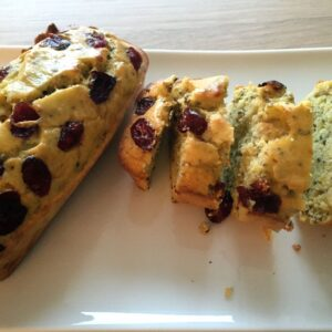 Cranberry sinaasappel broodje