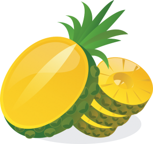 fruitsuiker ananas