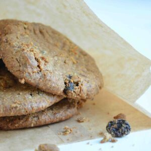 Amandel-rozijnen koeken