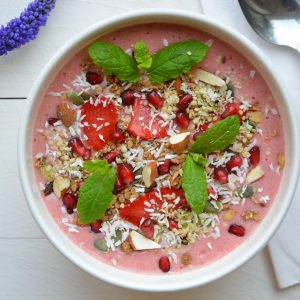 Roze Smoothie Bowl
