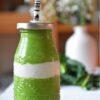 groen witte smoothie