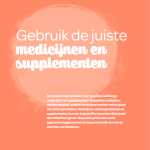 Medicijnen en supplementen