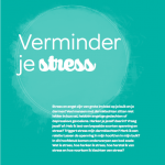 verminder je stress