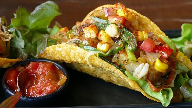 Heerlijke Mexicaanse taco's!